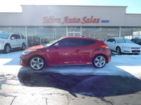 2014 Hyundai Veloster for sale at Mira Auto Sales in Dayton OH