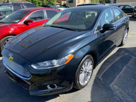 2014 Ford Fusion for sale at Contra Costa Auto Sales in Oakley CA