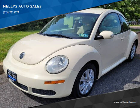 2009 Volkswagen New Beetle for sale at NELLYS AUTO SALES in Souderton PA