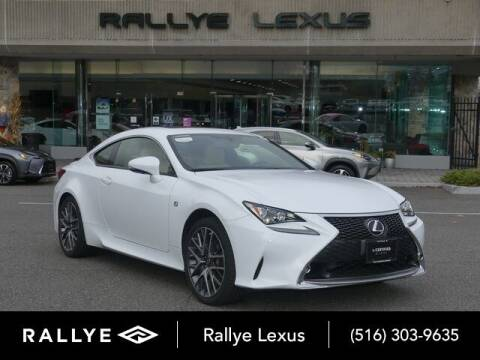 2017 Lexus RC 300 for sale at RALLYE LEXUS in Glen Cove NY