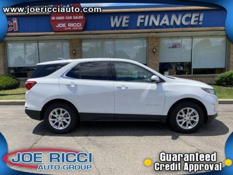 2018 Chevrolet Equinox for sale at JOE RICCI AUTOMOTIVE in Clinton Township MI