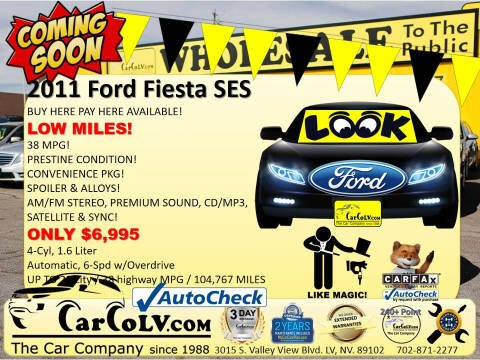 2011 Ford Fiesta for sale at The Car Company in Las Vegas NV