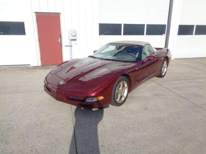2003 Chevrolet Corvette for sale at Lewin Yount Auto Sales in Winchester VA