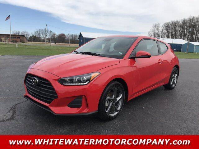 2019 Hyundai Veloster for sale at WHITEWATER MOTOR CO in Milan IN