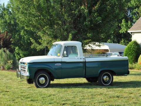 1965 Ford F-100 for sale at Hines Auto Sales in Marlette MI