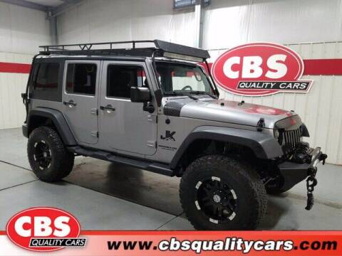 2015 Jeep Wrangler Unlimited for sale at CBS Quality Cars in Durham NC