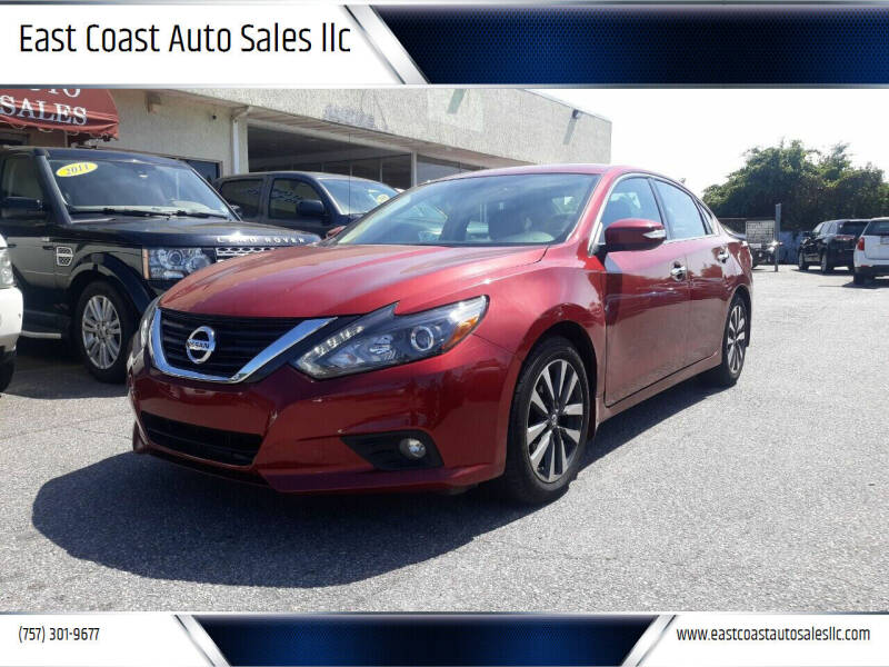 2016 Nissan Altima for sale at East Coast Auto Sales llc in Virginia Beach VA