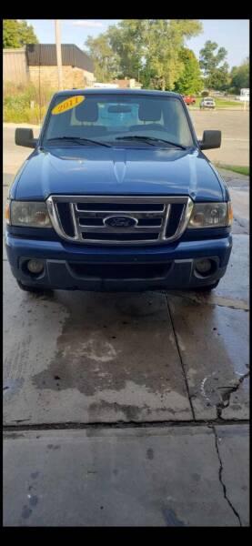 2011 Ford Ranger for sale at Hillside Motor Sales in Coldwater MI