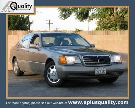 1993 Mercedes-Benz 400-Class for sale at A Quality Auto Sales in Huntington Beach CA