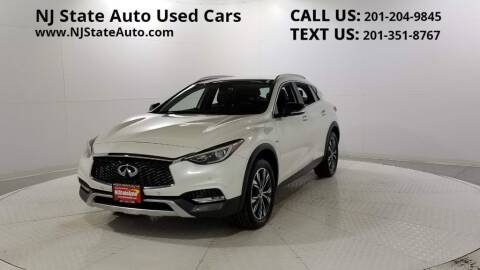 2018 Infiniti QX30 for sale at NJ State Auto Auction in Jersey City NJ