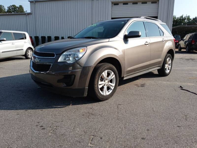 2010 Chevrolet Equinox for sale at Mathews Used Cars, Inc. in Crawford GA