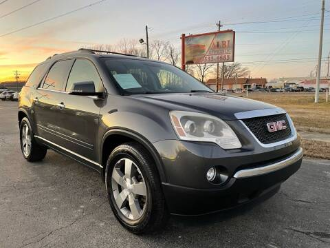 2012 GMC Acadia for sale at Albi Auto Sales LLC in Louisville KY