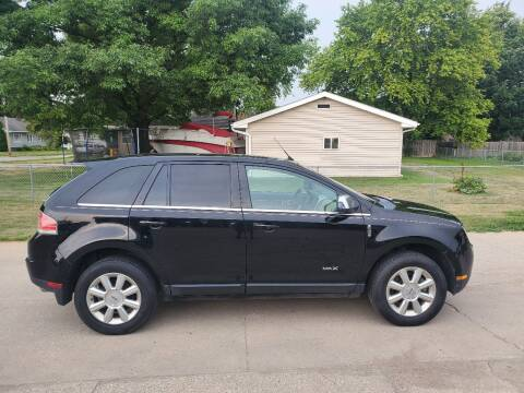 2008 Lincoln MKX for sale at RIVERSIDE AUTO SALES in Sioux City IA