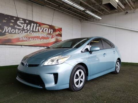 2014 Toyota Prius for sale at SULLIVAN MOTOR COMPANY INC. in Mesa AZ