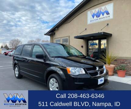 2012 Dodge Grand Caravan for sale at Western Mountain Bus & Auto Sales in Nampa ID