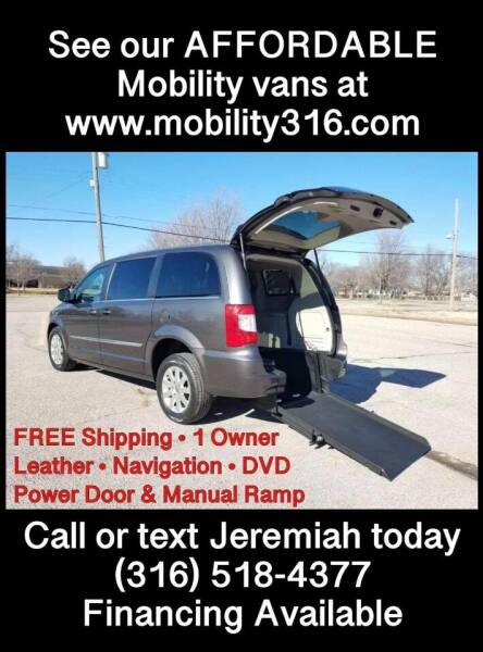2015 Chrysler Town and Country for sale at Affordable Mobility Solutions, LLC - Mobility/Wheelchair Accessible Inventory-Wichita in Wichita KS