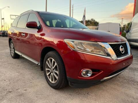 2013 Nissan Pathfinder for sale at H.A. Twins Corp in Miami FL