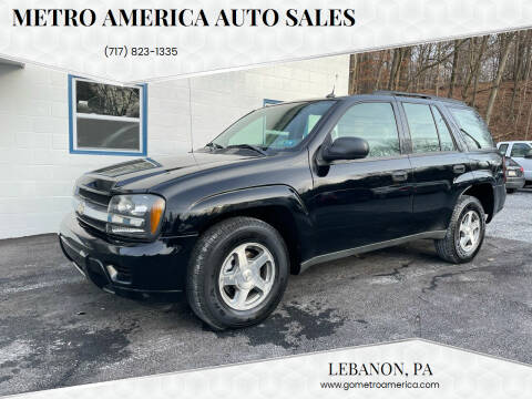 2005 Chevrolet TrailBlazer for sale at METRO AMERICA AUTO SALES of Lebanon in Lebanon PA