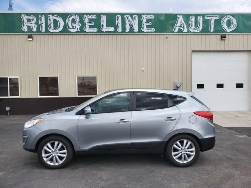 2010 Hyundai Tucson for sale at RIDGELINE AUTO in Chubbuck ID