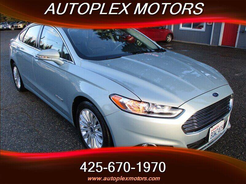 2013 Ford Fusion Hybrid for sale in Lynnwood, WA