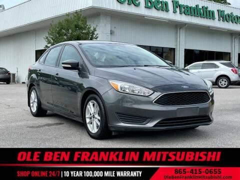 2017 Ford Focus for sale at Ole Ben Franklin Mitsbishi in Oak Ridge TN
