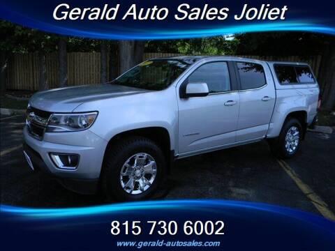 2017 Chevrolet Colorado for sale at Gerald Auto Sales in Joliet IL