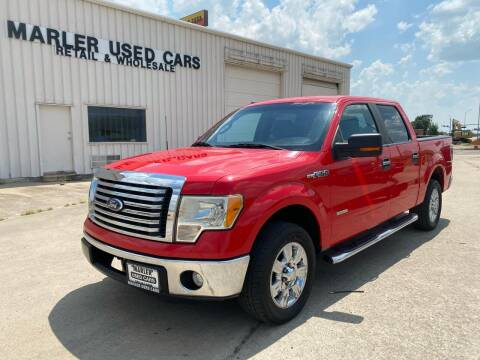 2012 Ford F-150 for sale at MARLER USED CARS in Gainesville TX