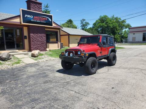 2005 Jeep Wrangler for sale at Pro Motors in Fairfield OH