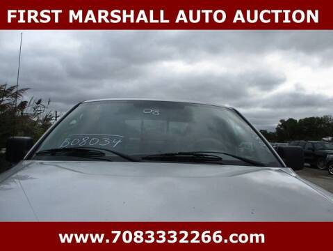2008 Ford F-150 for sale at First Marshall Auto Auction in Harvey IL