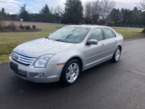 2007 Ford Fusion for sale at McMinnville Auto Sales LLC in Mcminnville OR