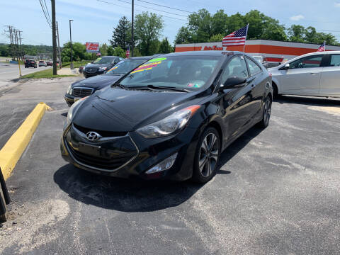 2013 Hyundai Elantra Coupe for sale at Credit Connection Auto Sales Dover in Dover PA