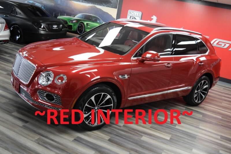 2017 Bentley Bentayga for sale at Icon Exotics in Houston TX