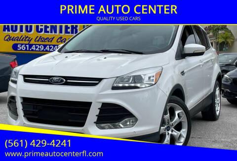 2013 Ford Escape for sale at PRIME AUTO CENTER in Palm Springs FL
