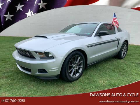 2012 Ford Mustang for sale at Dawsons Auto & Cycle in Glen Burnie MD