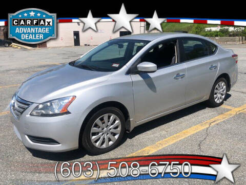 2013 Nissan Sentra for sale at J & E AUTOMALL in Pelham NH