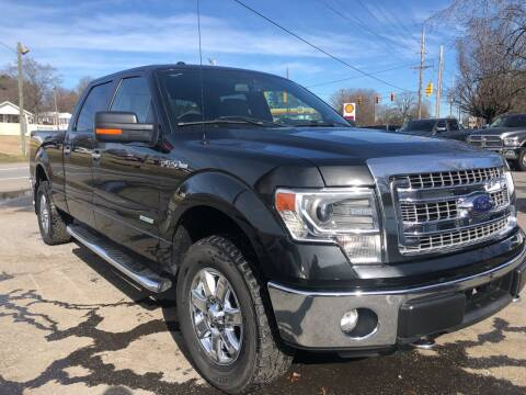 2014 Ford F-150 for sale at Creekside Automotive in Lexington NC