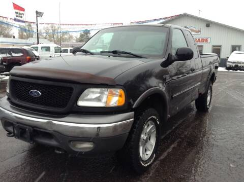 2002 Ford F-150 for sale at Steves Auto Sales in Cambridge MN