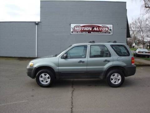 2006 Ford Escape for sale at Motion Autos in Longview WA