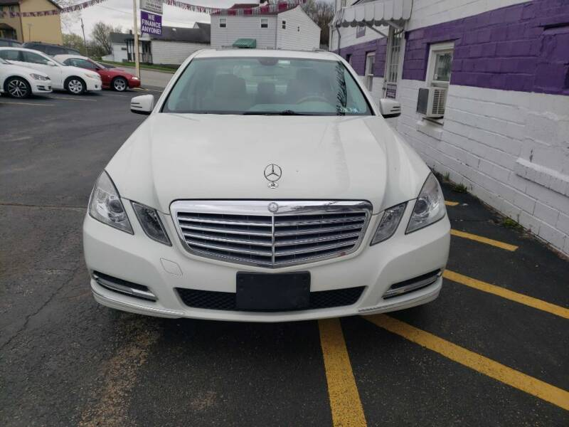 2012 Mercedes-Benz E-Class for sale at KANE AUTO SALES in Greensburg PA