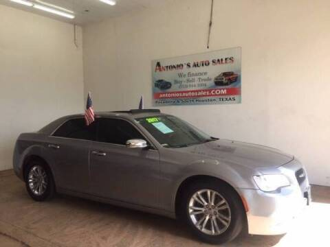 2017 Chrysler 300 for sale at Antonio's Auto Sales in South Houston TX