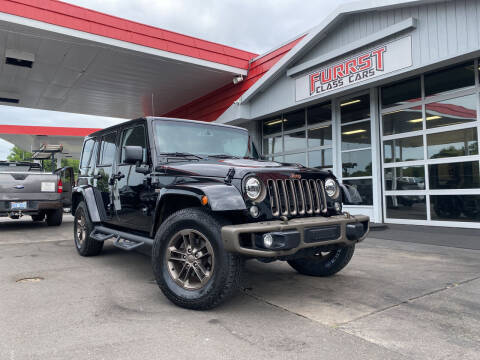 2016 Jeep Wrangler Unlimited for sale at Furrst Class Cars LLC in Charlotte NC