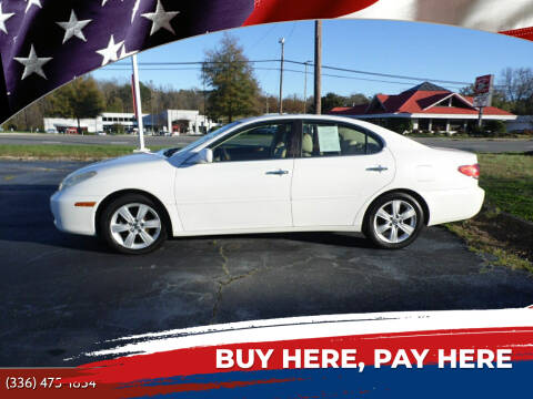 2005 Lexus ES 330 for sale at CAROLINA MOTORS - Carolina Classics & More-Thomasville in Thomasville NC