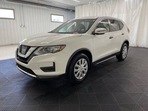 2017 Nissan Rogue for sale at Monster Motors in Michigan Center MI