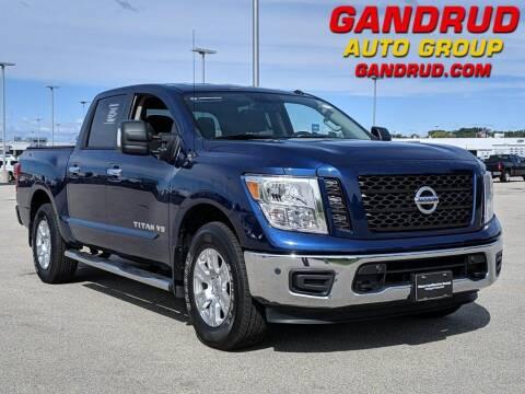 2019 Nissan Titan for sale at Gandrud Dodge in Green Bay WI