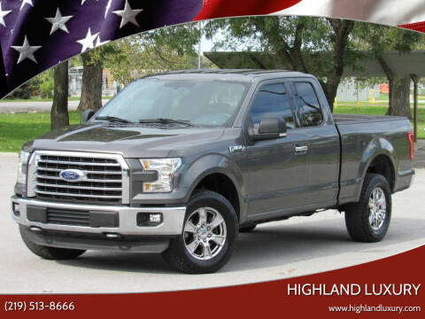 2015 Ford F-150 for sale at Highland Luxury in Highland IN