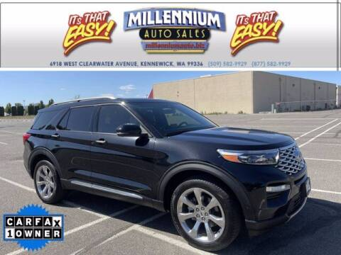2020 Ford Explorer for sale at Millennium Auto Sales in Kennewick WA