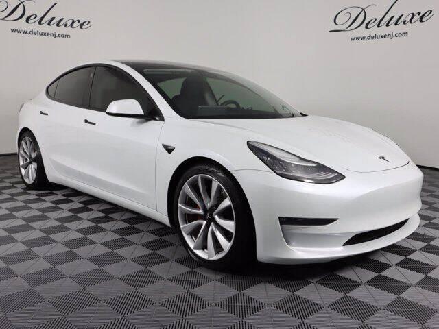 2019 Tesla Model 3 for sale at DeluxeNJ.com in Linden NJ