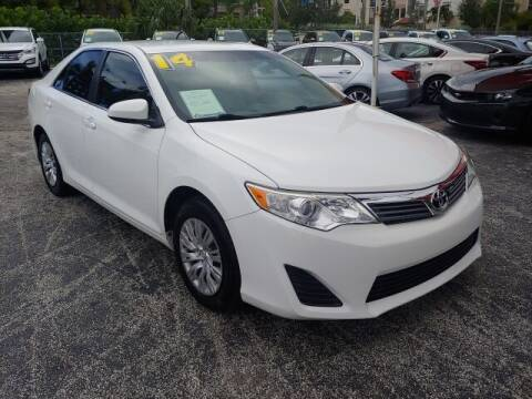 2014 Toyota Camry for sale at Brascar Auto Sales in Pompano Beach FL