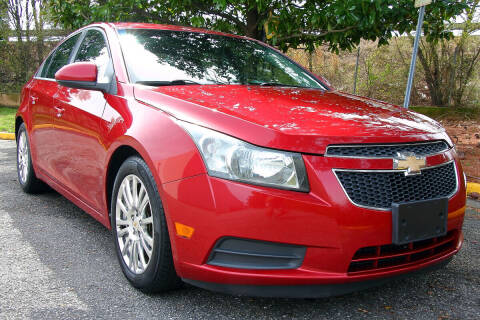 2012 Chevrolet Cruze for sale at Prime Auto Sales LLC in Virginia Beach VA