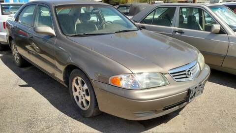 2002 Mazda 626 for sale at AFFORDABLY PRICED CARS LLC in Mountain Home ID